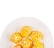 Home Made Cream Puff IV Stock Images