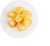Home Made Cream Puff VII Royalty Free Stock Photography