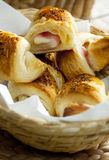 Home Made Croisants Stock Photography