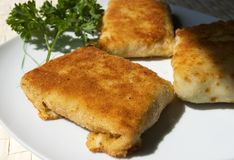 Home made croquettes Royalty Free Stock Image