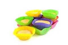 Home made cupcakes Stock Photos