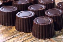 Home made dark chocolate Royalty Free Stock Photos