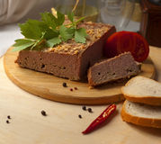 Home-made duck pate Royalty Free Stock Photos