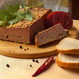 Home-made duck pate Royalty Free Stock Images