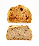 Home Made Farmer's Bread Isolated royalty free stock photo