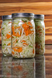 Home made fermented vegetables royalty free stock photography