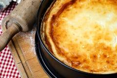 Home Made Fresh Cheese Cake Royalty Free Stock Photos