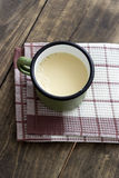 Home made fresh soy milk Royalty Free Stock Image