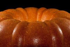 Home made freshly baked lemon pound cake Stock Image