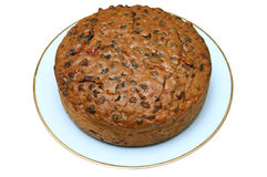 Home made fruit cake. Royalty Free Stock Photos