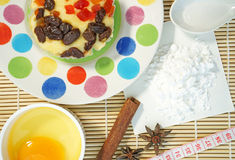 Home made fruit cake Stock Image