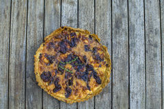 Home made garlic pie Royalty Free Stock Photo