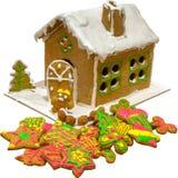 Ginger bread house Stock Photo