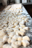 Home Made Gnocchi Royalty Free Stock Photo
