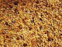 Home made granola Royalty Free Stock Photo