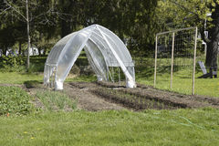 Home made green house Royalty Free Stock Images