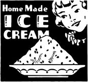 Home Made Ice Cream Royalty Free Stock Images