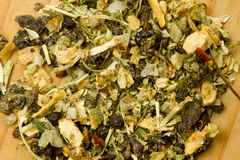 Home made Italian mixed dried herbs Stock Images