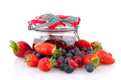 Home made jam Royalty Free Stock Photos