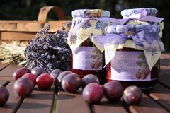 Home-made jam Royalty Free Stock Image