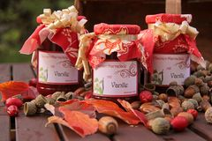 Home-made jam Royalty Free Stock Images
