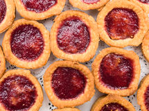 Homemade Jam Tarts Stock Images