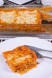 Home made lasagna Stock Photos