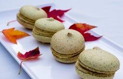 Home made macarons Stock Image