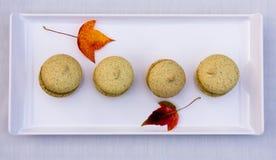 Home-made macarons Stock Photo