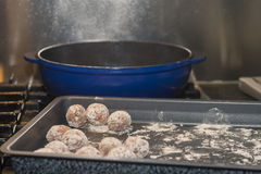 Home made meatballs Royalty Free Stock Photography