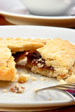 Home made mince pie Royalty Free Stock Photos
