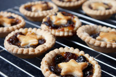 Home made mince pies Royalty Free Stock Photos