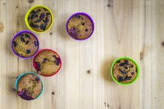 Home made muffins Royalty Free Stock Photos