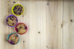 Home made muffins Stock Images