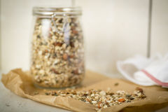 Home Made Musli Royalty Free Stock Photography