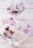 Home-made  nibble - muesli. Small ball Stock Photo