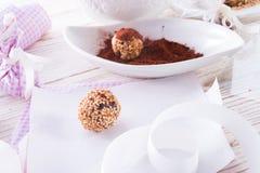 Home-made nibble small ball Royalty Free Stock Photos