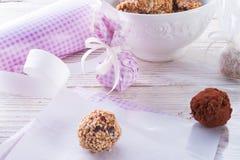 Home-made nibble small ball Stock Photo
