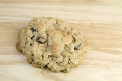 Home Made Oatmeal Raisen Cookie Royalty Free Stock Image