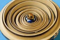 Open matrioska. Home made open matrioska - macro images Royalty Free Stock Image