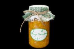 Home made orange marmalade Royalty Free Stock Photography