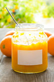 Home made orange marmelade tree Stock Photography