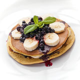 Home made pancakes Stock Photography