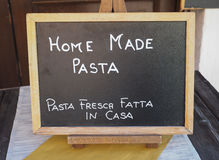 Home made pasta Stock Images