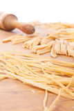 Home Made Pasta Types Stock Photos