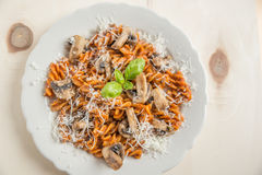 Home made pasta Stock Photography