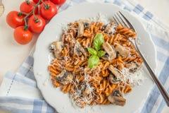 Home made pasta Stock Photos
