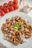 Home made pasta Royalty Free Stock Images