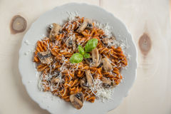 Home made pasta Royalty Free Stock Photography