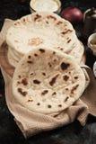 Home made Turkish pita bread Royalty Free Stock Photography